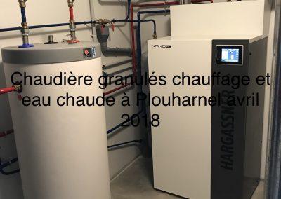 CHAUDIÈRE GRANULES GITES PLOUHARNEL